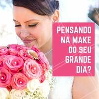 Ansiosa? Então venha ficar linda e sem preocupações no seu grande dia! Agende seu horário  👰💗  #noivas #makenoiva #maquiagemnoiva #noivalinda #ahazou #noivaprincesa