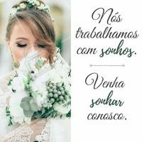 Realizando seu sonho? Venha realizá-lo conosco! 😍 #noivas #makenoiva #penteadonoiva #maquiagemnoiva #noivalinda #ahazou #noivaprincesa