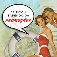 Fica ligada! Estamos com promoção em (escrever aqui serviços/tratamentos) 😍 Corre pra aproveitar! #promocao #desconto #ahazou #beleza