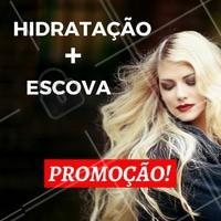 Quer ficar com o cabelo lindo e por um precinho maravilhoso? 💇 Aproveite nossa promoção especial! #promocao #desconto #ahazou #beleza