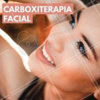 Os benefícios alcançados pela carboxiterapia facial são: aumento da luminosidade e elasticidade da pele; diminuição da flacidez e das olheiras! 😱 Gostou? Agende já sua consulta! #carboxiterapia #olheiras #gordura #pele #ahazou #esteticafacial #estetica