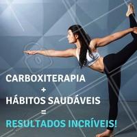 Hábitos saudáveis como alimentação balanceada e exercícios regulares são essenciais para atingir resultados eficazes com a carboxiterapia! #carboxiterapia #celulite #gordura #flacidez #ahazou #esteticacorporal #verao2018