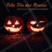 Dia 31 de Outubro é Dia das Bruxas, mas nós queremos que todos você tenham um dia mágico 🎃🕸 #halloween #diadasbruxas #amo #ahazou #bruxa #assombrado #boo