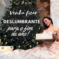 Não vai deixar pra última hora, hein? Antecipe-se e já agende seu horário para arrasar nas festas de fim de ano! 🎆🎅 #fimdeano #beleza #natal #ahazou #anonovo