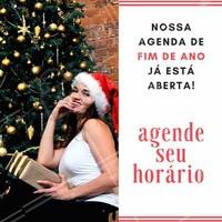 Ainda não agendou seu horário pro fim de ano? 😱 Corre pra agendar e vem ficar linda pras comemorações! #natal #anonovo #ahazou #beleza