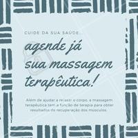 Se você está em busca de um tratamento médico, não tem mais que se preocupar! Com a massagem terapêutica você trabalha a melhora física e mental. Agende o seu horário e saiba mais dessa maravilha! #massagemterapeutica #massagem #tratamento #cuidados #saúde #massoterapeuta