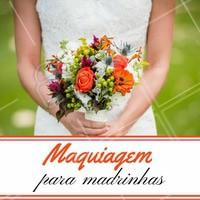 Todo mundo sabe que a noiva é sempre a mais linda do grande dia! Mas as madrinhas também merecem arrasar nesse dia especial. Aproveite nossos pacotes para madrinhas 😍 #madrinha #casamento #noiva2018 #ahazou #maquiagemmadrinha