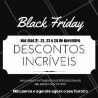 Confira os nossos preços com super descontos na semana do Black Friday! #BlackFriday #TratamentoEstetico #Autoestima #Ahazou #Estetica #TratamentoCorporal #Beleza #TratamentoFacial  #Instabeauty