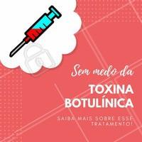 """A toxina botulínica é um dos procedimentos estéticos mais populares e conhecidos, o famoso """"botox"""". Mas, muitas pessoas têm medo desse tratamento e um certo preconceito com os resultados. Por isso é tão importante o papel de um profissional qualificado com alto conhecimento para conseguir resultados naturais para o seu rosto! Quer saber mais? Agende seu horário ☎️ #botox #toxinabotulinica #ahazou #esteticafacial"""