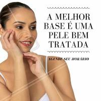 Uma pele bem tratada e cuidada faz toda a diferença na maquiagem. Aproveite e agende agora uma avaliação #esteticafacial #tratamentofacial #pele #ahazou #beleza #instabeauty #autoestima #pelelisa #pelesaudavel
