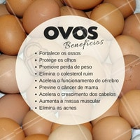 O ovo é uma escolha nutritiva e a ciência afirma que é benéfico à saúde. O ovo é um dos alimentos mais nutritivos da natureza e excelente fonte de proteína de alta qualidade. Quase todos os nutrientes que o corpo necessita estão presentes nos ovos. Possui 13 vitaminas essenciais e minerais, proteínas de alta qualidade, gorduras insaturadas (saudáveis) e antioxidantes, com apenas 70 calorias. #nutrição #alimentosaudável #ahazou #saude #beleza #bemestar #autoestima #ovos #proteinas