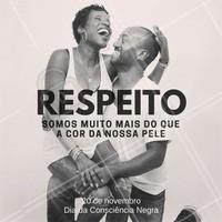 Hoje é dia da Consciência Negra! É dia de fazer uma reflexão e nos lembrarmos de um povo que lutou pelos seus direitos e fez história. Consciência Negra Sim! ✊✊✊  #Ahazou #Beleza #ConsciênciaNegra #Respeito #Preconceito