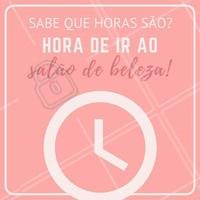 Melhor hora do dia, sem dúvida alguma! 💗😌 #amo #ahazou #felicidade #melhordia #salãodebeleza #salão #beleza #instabeauty