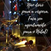Agende seu horário com antecedência!   #FimDeAno #AgendamentoAntecipado #AgendaFimDeAno #Natal #Salão #Manicure #Maquiagem #Cabelo #DesignDeSobrancelha #EstéticaCorporal #EstéticaFacial #Ahazou