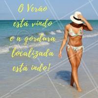 Fique ainda mais linda para o Verão!   #GorduraLocalizada #Estética #ClínicaDeEstética #Beleza #Verão #Ahazou