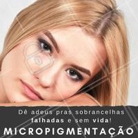 Ninguém merece ter que ser refém da maquiagem pra ficar com as sobrancelhas bonitas, né? Se você sofre com sobrancelhas falhadas e sem destaque, corre pra agendar o horário da sua micropigmentação! ☎️ #micropigmentacao #ahazou #microblading #fioafio