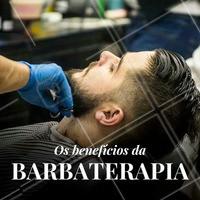 Barbaterapia é um tratamento completo para o rosto e barba, que deixa a barba bem feita e alinhada, hidrata completamente os fios, devolve vitalidade e luminosidade para pele e é muito indicado para quem sofre com a foliculite. ⠀ Além disso, o procedimento é uma terapia que relaxa e ajuda a combater o stress do dia a dia. Aqui oferecemos esse e vários outros procedimentos. 💈   Venha agendar o seu horário! #barbaterapia #ahazou #barbearia #barba #cuidadosmasculinos #beleza #autoestima