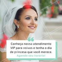 O atendimento VIP que você sempre sonhou, aqui no nosso espaço! 😍 Você merece o melhor. #noivas #maquiagem #ahazou #cabelo