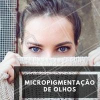 Destaque o seu olhar e otimize seu tempo com a micropigmentação de olhos! Essa técnica é uma substituição pro lápis de olho e o delineador. Feito com auxílio de um aparelho para a implantação de pigmento na linha dos cílios. As cores podem variar, além da espessura e comprimento do delineado! Gostou? Agende seu horário! ☎ #micropigmentacao #olhos #maquiagemdefinitiva #ahazou