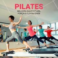 Os benefícios do Pilates para o corpo são inúmeros, aqui podemos citar alguns deles:  ➡ Aumento da resistência física e mental ➡ Aumento da flexibilidade ➡ Corrige problemas posturais ➡ Aumento da Concentração ➡ Tonifica a musculatura ➡ Melhora a coordenação motora ➡ Promove menor Atrito nas Articulações ➡ Alivia Dores Musculares  ☎ Ligue agora e marque seu horário!  #pilates #fisioterapia #saude #bemestar #ahazou #mente #corpo #equilibrio