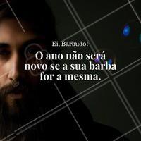 Venha renovar a sua barba conosco. Estaremos funcionando! #barba #barbearia #ahazou #barbaterapia #autoestima #beleza