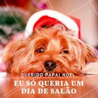 Presenteie quem você ama neste natal com um dia de salão! #SalaoDeBeleza #Autoestima #Ahazou #Cabelo #Beleza #Natal