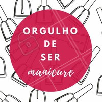Amo! Ser manicure é minha paixão 💅 #manicure #unhas #amounhas #ahazou #nails