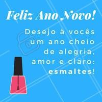 Feliz 2018 para nós! Obrigada à todas as clientes que me acompanharam nesse ano! 💖💅🏻 #anonovo #reveillon #unhas #ahazou #fimdeano #manicure