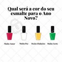 Amor, Paz, Dinheiro ou Sorte? O que você precisa mais no momento? #manicure #unha #esmalte #ahazou #esmaltação #automestima #beleza #unhadodia #natal