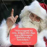 Siga as dicas do Papai Noel 🎅 ho ho ho #feliznatal #estetica #saude #drenagemlinfatica #ahazou #beleza #autoestima