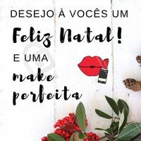 Que na noite de Natal vocês estejam cercados de amor, alegria, família e claro: uma make bapho! 😘 Feliz Natal pra todos! 🎄 #natal #feliznatal #ahazou #boasfestas #reveillon