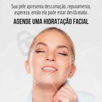 Venha cuidar de você, agende agora uma hidratação de pele e saia com uma pele mais saudável. #tratamentofacial #ahazou #hidratacaofacial #beleza #autoestima #esteticafacial