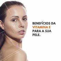 É comprovado que a Vitamina E possui muitos benefícios para a pele, um deles é a capacidade antioxidante. Os antioxidantes são essenciais para reduzir os radicais livres, causadores de danos na pele e de envelhecimento prematuro.  #vitaminaE #ahazou #beleza #estetica #cicatrizes #estrias #manchas #cuidadospele #hidratacao #autoestima #bemestar #saude