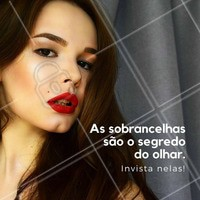 Invista em um olhar poderoso. Venha marcar o seu horário! #sobrancelhas #designsobrancelhas #olharpoderoso #ahazou #beleza #bemestar #autoestima
