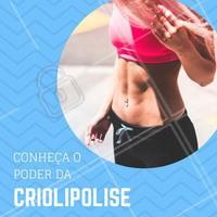 O tratamento que congela gordura e já é o queridinho no Brasil! A criolipólise usa baixas temperaturas para acabar com a gordura localizada. 😍 Curta o verão de bem com o seu corpo! Venha conhecer o poder da crio. #criolipolise #gorduralocalizada #ahazou #esteticacorporal