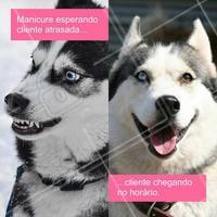 Para descontrair! Mas é a pura verdade! 🤣😅 #manicure #salaodebeleza #ahazou #autoestima #esmaltes #unhas #unhasdediva #respeito