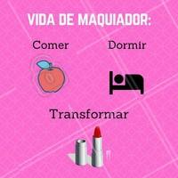 Amo minha profissão! 😍 #maquiagem #maquiadorporamor #ahazou #vidademaquiador