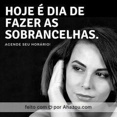 Vamos agendar? 😉 #designdesobrancelha #sobrancelha #ahazou #embelezamentodoolhar