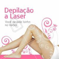 Depilação a laser! Venha ficar lisinha para o verão. Reserve agora o seu horário. #verão #depilação #depilacaolaser #ahazou #beleza #tratamentocorporal #autoestima