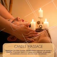 Venha agendar a sua sessão de massagem com velas quentes!  #candlemassage #massagemcomvelas #massagem #tratamentocorporal #beleza #ahazou #autoestima #saude #bemestar #massoterapia
