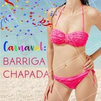Vem chapar essa barriga com a gente!  👊🎉💁 #barrigachapada #projetoverao #ahazou #esteticacorporal #projetocarnaval
