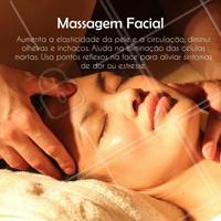 A massagem facial é recomendada para todas as idades. #massagem  #facial #tratamentofacial #massagemfacial #relaxamento #ahazou #bemestar #saude #beleza