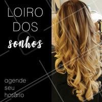 Já passou a hora de você conquistar o loiro dos seus sonhos! Venha iluminar seu cabelo e sua beleza aqui 💇✨ #cabelo #Loiros #ahazou #salaodebeleza