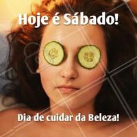Venha se embelezar hoje! #Beleza #DiaDeBeleza #Ahazou #Autoestima #Sábado