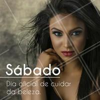 Sábadou! Venha para o salão dar um UP no visual! #SalãoDeBeleza #Ahazou #Beleza #Autoestima #Manicure #CortedeCabelo #Diva