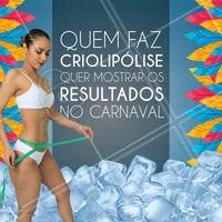Venha agendar sua sessão de criolipólise! #Beleza #TratamentoCorporal #Criolipolise  #Ahazou #ReduçãoDeMedidas #EliminarGordura #GorduraLocalizada #Autoestima
