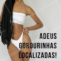 Venha conhecer nossos tratamentos personalizados e dê adeus pra gordurinha localizada! 👋 #gorduralocalizada #ahazou #esteticacorporal