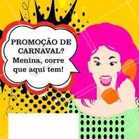 Venha conferir nosso preços especiais para essa semana do Carnaval! #Beleza #Ahazou #Carnaval #Autoestima