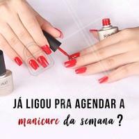 Não vai esquecer, hein? 💅 #manicure #ahazou #unhas