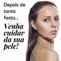 Depois de tanta festa e folia, sua pele está pedindo socorro? 😢  Venha cuidar de você e do seu rosto! #esteticafacial #ahazou #limpezadepele #cuidadoscomapele #carnaval